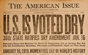 18th amendment ratified